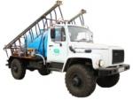 Самоходные опрыскиватели с баком 750 или 2000 литров от производителя