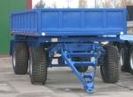 Прицеп тракторный самосвальный 2ПТС-10